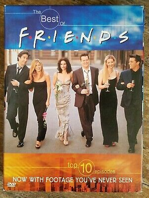 Friends- The Best of Friends Volume 1 and 2: 10 Fan Favorites DVD, 2000 2-Disc