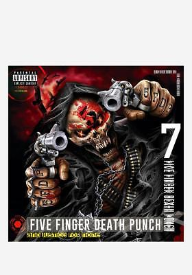 Five Finger Death Punch : And Justice For None (Deluxe) CD NEW