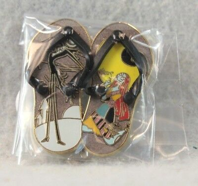 Disney Shopping Store Pin LE 250 Nightmare NBC Sally Jack Skellington Sandals