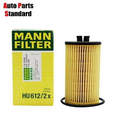 Genuine MANN FILTER Oil Filter HU612/2x Fit For Opel Chevrolet Suzuki And More
