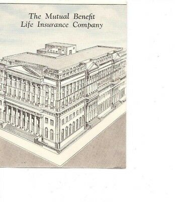 The Mutual Benefit LIfe Insurance Company - Informational Brochure