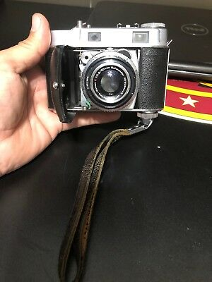 VINTAGE RARE Kodak Retina IIc Rangefinder Film 35mm Camera W/LEATHER STRAP