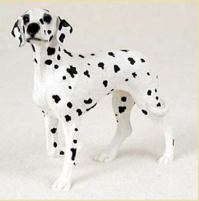 DALMATIAN DOG Figurine Statue Hand Painted Resin Gift Pet Lovers