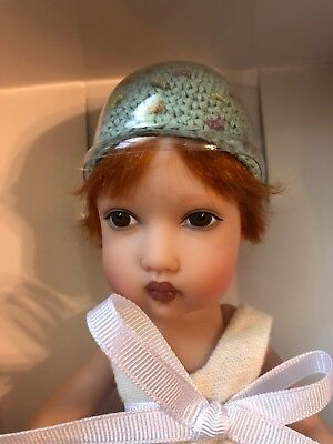 "Helen Kish 8"" Baby Doll Tompkin— Very Cute— Red Hair And Brown Eyes- Adorable"