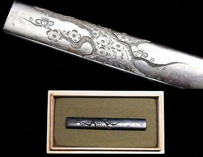 Antique Japanese sword kodzuka