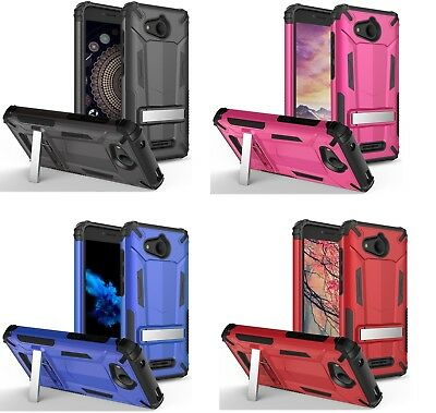 For Alcatel Tetra 6753B / 5041C Hybrid Transformer Case with Stand
