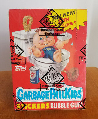 1986 Garbage Pail Kids 6th Series (OS 6) Sealed Unopened Box with 48 packs New!