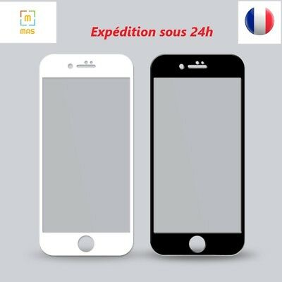 Verre Trempe Iphone 8/7/6/6S/x/xs Plus S, Ecran Film,vitre ,protection Integrale