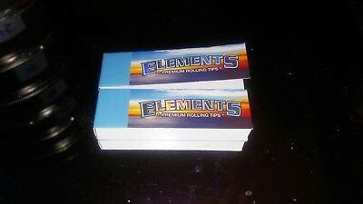 2x Elements Rolling Tips (Two Packs Of 50 Tips)