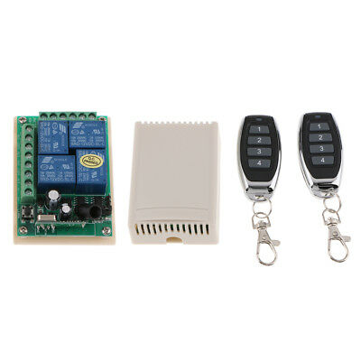 12V 4CH CHANNEL Relay Wireless RF Remote Control Switch