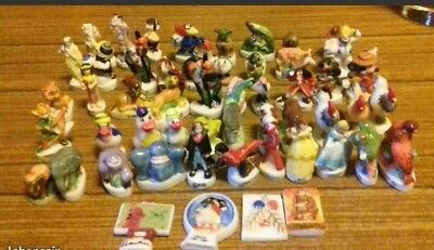 lot de 53 feves disney/atlas /animaux et autres