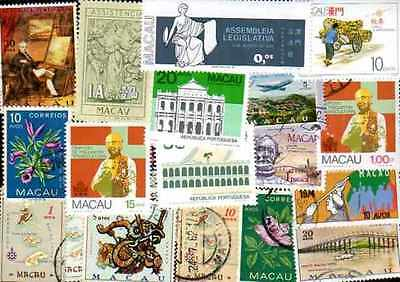 Macao - Macau 50 stamps different