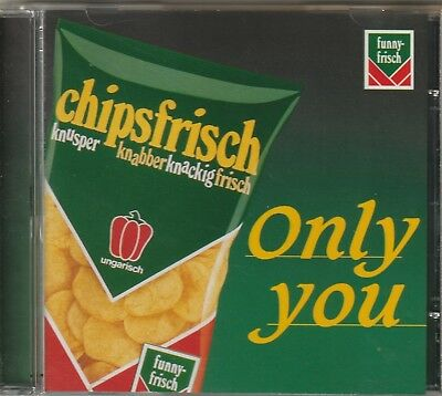 CD in Form einer Chipstüte ( Titel: Only you/The Platters
