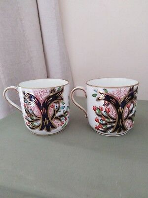 Pair of Imari Victorian Copeland Spode Coffee Cans SUPERB CONDITION