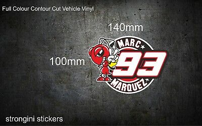 Marc Marquez Vinyl Decal Sticker 7 year outdoor vinyl high quality