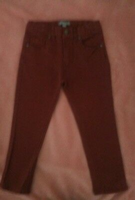 Pumpkin Patch Sz 4 reddish brown jeans