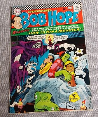 Adventures of Bob Hope # 105 - Monsters story VG/Fine Cond. DC Comic