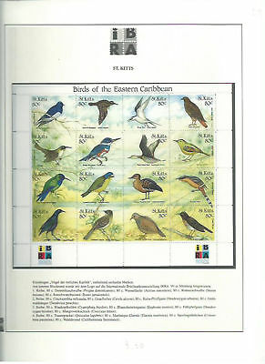 80225 / Fauna ** MNH Ibra 1999 St. Kitts Vogel Bird
