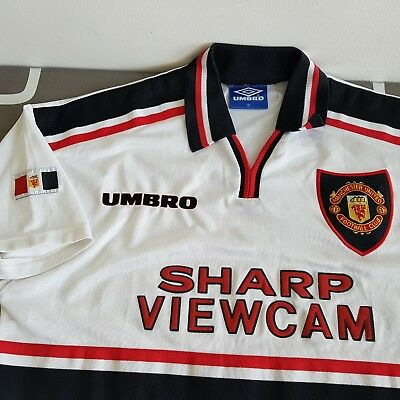 Maillot Shirt Jersey vintage Umbro Manchester United 1997/1999 size M