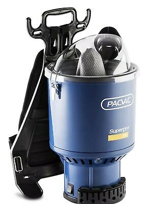 Pacvac SuperPro 700 Back Pack Vacuum Cleaner - 1000w Motor, HEPA Filter