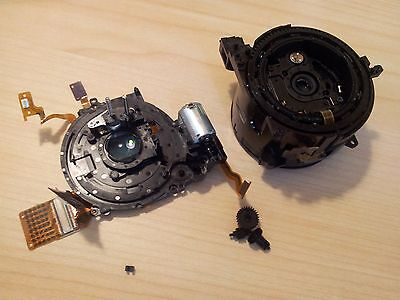 Genuine CANON PowerShot G9 Camera Part - DAMAGED Lens Zoom Unit