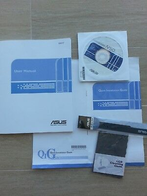 User Manual Guide Booklet Instructions Laptop Notebook Asus E4017 Kit