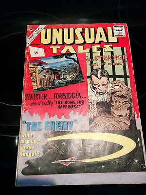 "Unusual Tales #31  ""The Strange Case Of Sammy"" dated 1961 - Charlton Comics"