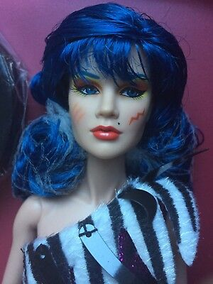 """INTEGRITY FR Mary STORMER Phillips Jem & The Holograms THE MISFITS 12"""" Doll"""