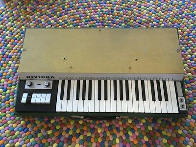 GEM Riviera Combo Organ Vintage Analog Orgel 60s Made in Italy