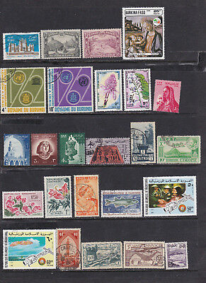 Africa collection - mint & used, all different, see scans