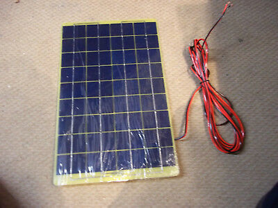 10W Car Battery Solar Charger Module Leads Ico-Spc-10W.*