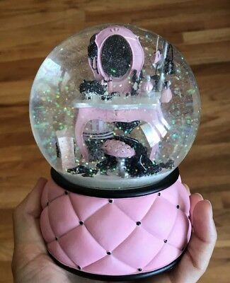 Rare Victorias Secret Musical Snow Globe