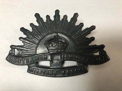 Australian Commonwealth Military Forces Hat Pin Vintage
