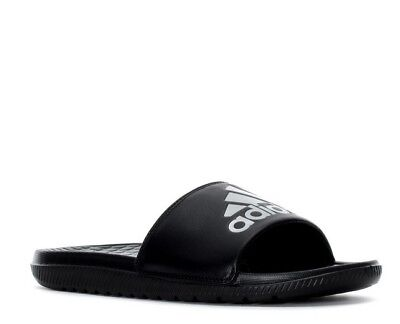 86ebf13f3dd1 7 New adidas Voloomix Men s Sandals Black Gray Sport Beach Slides AQ5897