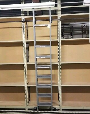 Cotterman rolling ladders 8 available. 2-$600. Round Tubing/brackets available.