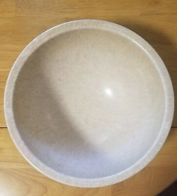 Vintage Texas Ware Confetti Splatter 10 Inch Mixing Bowl Neutral Colors / Tan