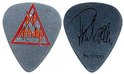 Def Leppard Phil Collen authentic stage used 2005 tour steel custom Guitar Pick