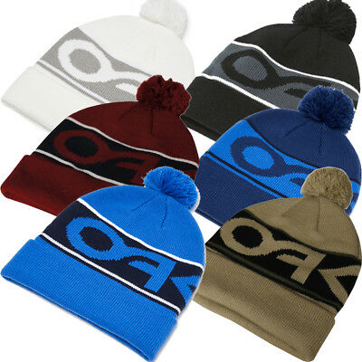 48efa9da6ca Oakley 2019 Factory Cuff Thermal Winter Golf   Ski   Snow Bobble Beanie Hat