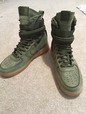 f2dccaf5f98b Nike Special Field Air Force One Faded Olive Green Mens Size 9 SFAF1  Without Bag
