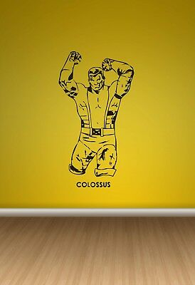 Wall Sticker Mural Decal Vinyl Decor Colossus Movie  Comics Avengers Hero