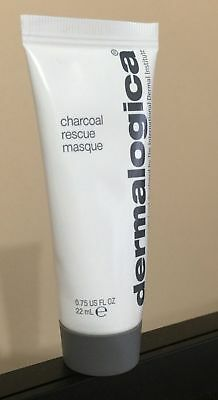 Dermalogica Charcoal Rescue Masque 22Ml Travel Size Sealed Mask Fast Free Uk P&p