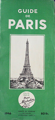Guide Michelin 1946 - Paris