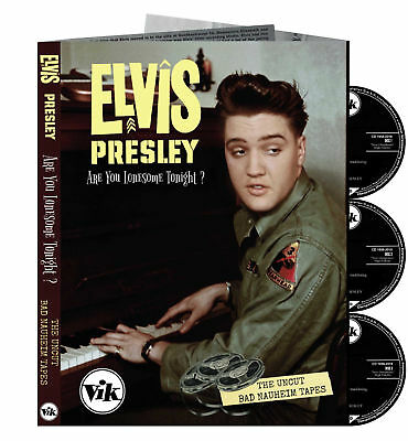 "Elvis Collector 3 CD Set "" Are You Lonesome Tonight? - The Uncut Bad Nauheim """