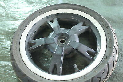 Peugeot Kisbee 50 4T Rear Wheel Rim Black Rear Wheel Ruota Rear Wheel