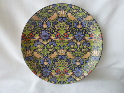 """Dunoon William Morris Strawberry Thief 8"""" Plate."""