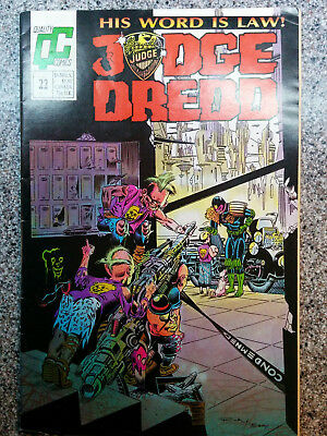 Judge Dredd comic '#22 by Quality Comics