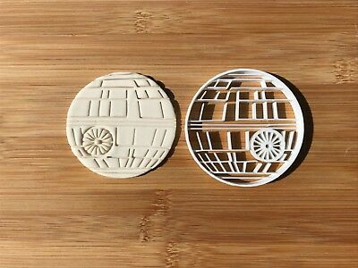 The Death Star Wars Uk SELLER Biscuit Cookie Cutter Fondant Cake Decorating