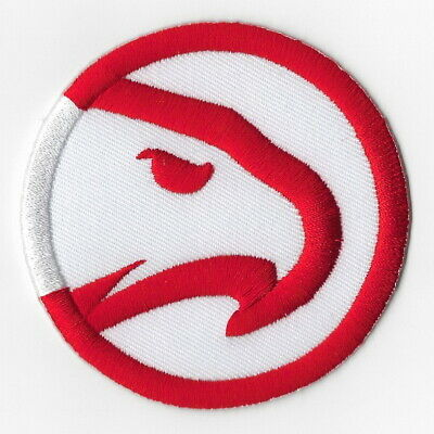 NBA Atlanta Hawks Iron on Patches Embroidered Badge Patch Applique Sewing Emblem