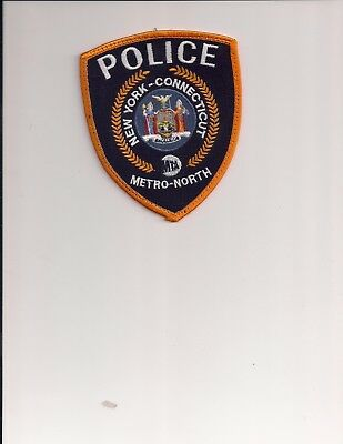 New York Connecticut MTA Metro North Police shoulder patch
