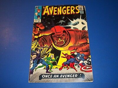 Avengers #23 Silver Age Quicksilver Scarlet Witch Kang Lower grade